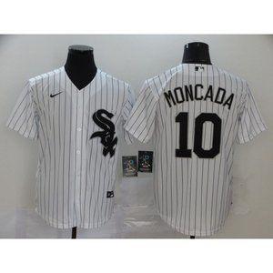 Chicago White Sox Yoan Moncada White Jersey